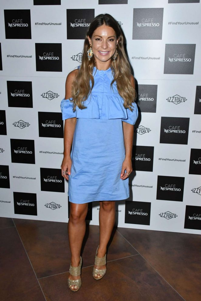 Louise Thompson – Nespresso Launch Party in London