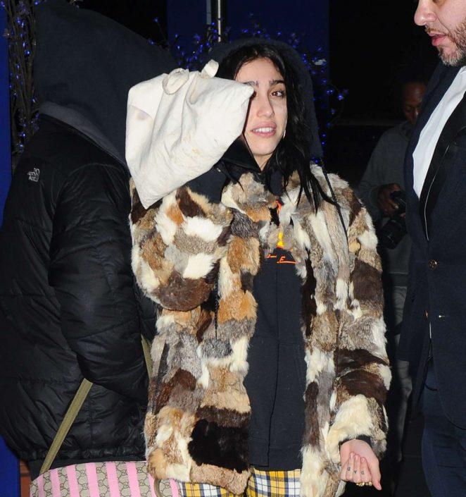 Lourdes Leon at Sapphire club -01