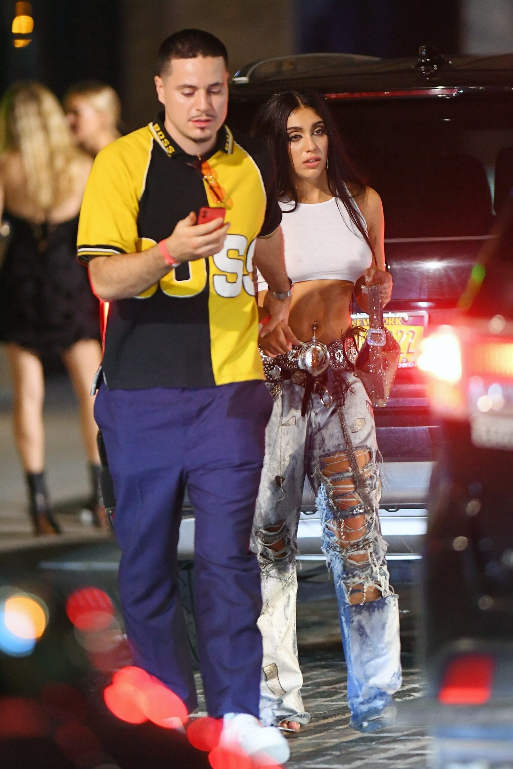 Lourdes Leon 2021 : Lourdes Leon – leaves Rihannas Met Gala after-party in New York-01