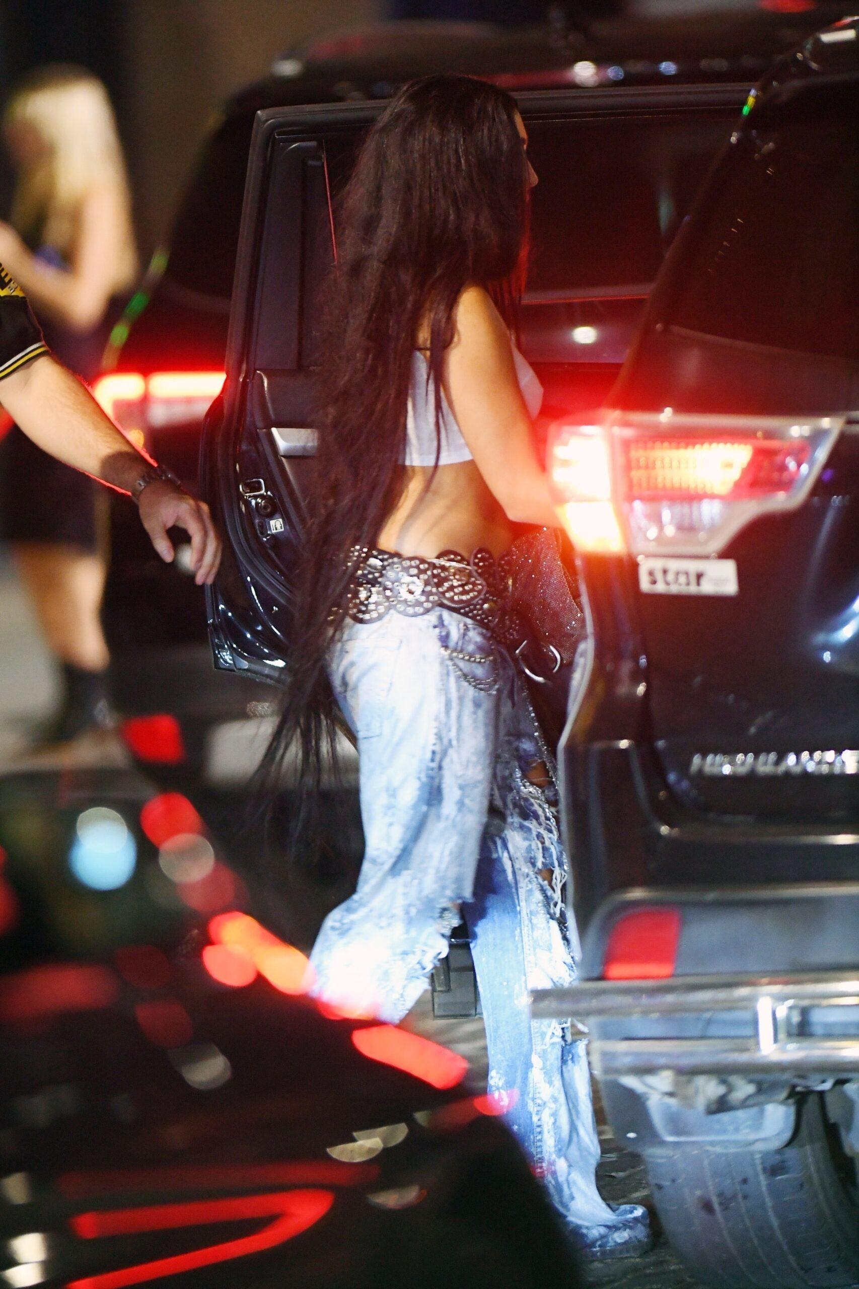 Lourdes Leon 2021 : Lourdes Leon – leaves Rihannas Met Gala after-party in New York-08