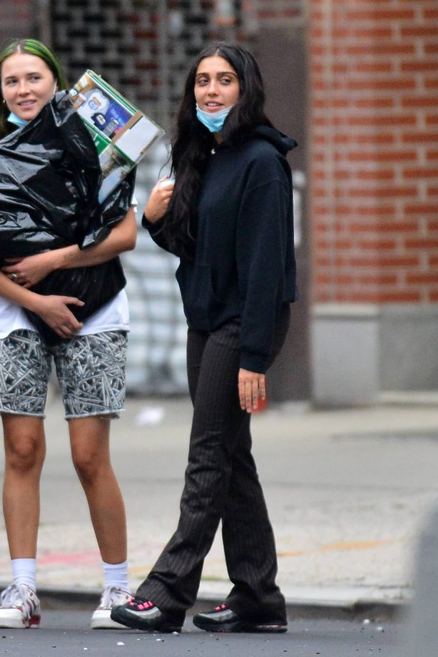 Lourdes Leon - Out with friends in New York