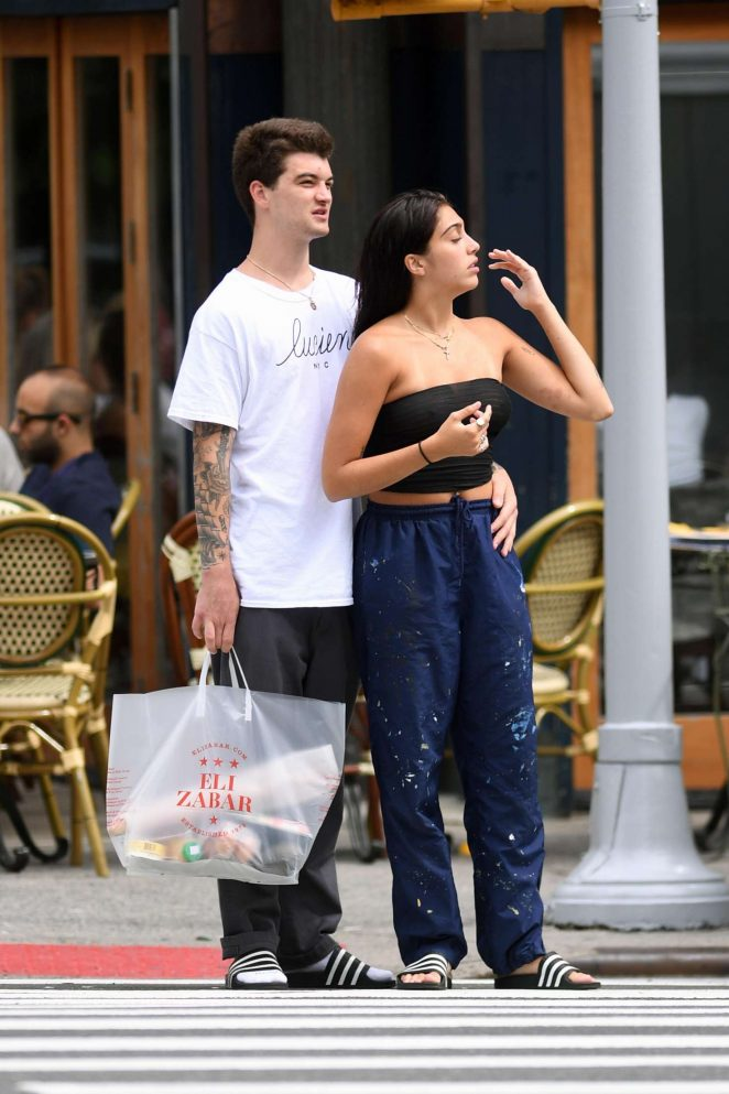 Lourdes Leon Shopping at a supermarket in NYC -28