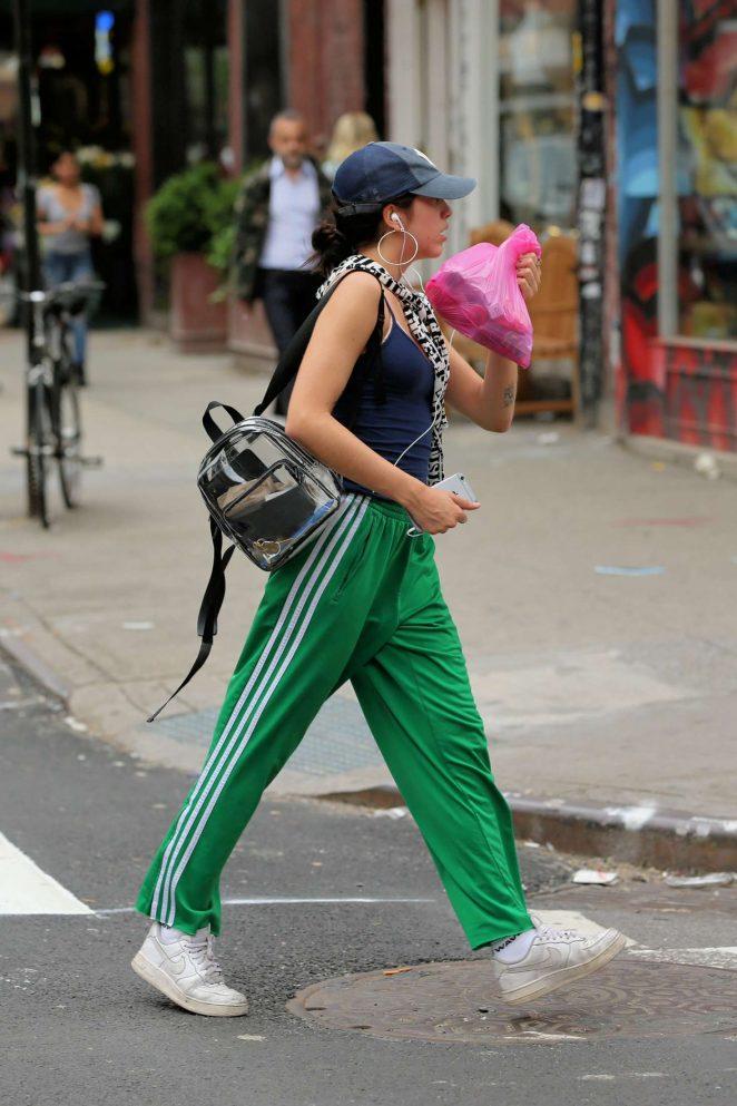 Lourdes Leon shopping in New York City -03