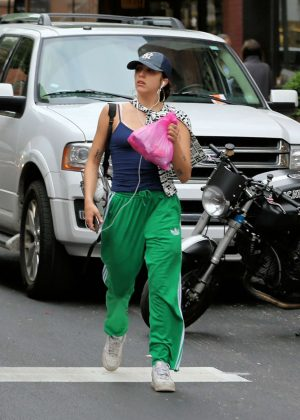 Lourdes Leon shopping in New York City