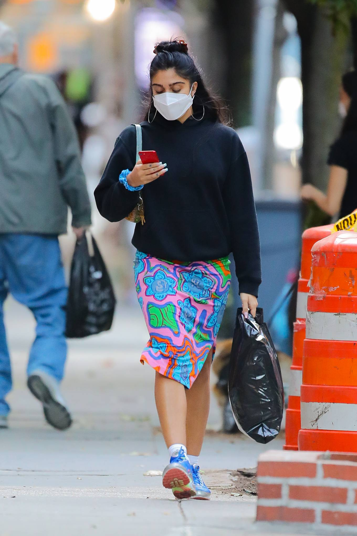 Lourdes Leon - Spotted on street after shopping in SoHo