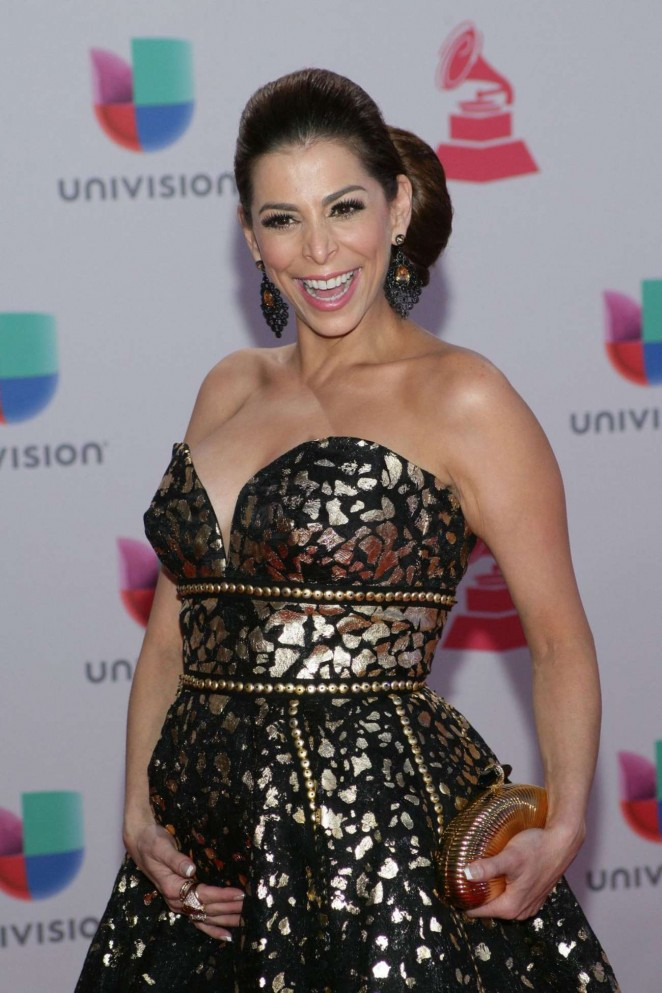 Lourdes Stephen - 2015 Latin Grammy Awards in Las Vegas
