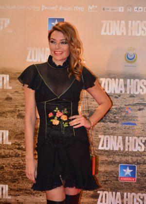 Lucia Hoyos - 'Zona Hostil' Premiere in Madrid