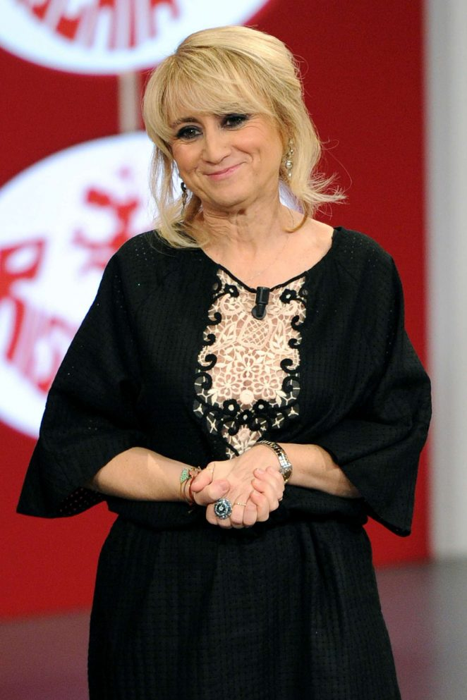 Luciana Littizzetto - 'Rischiatutto' TV show in Milan