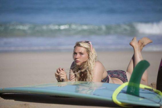 Lucie Donlan in Bikini - Poses for a surfwear photoshoot in Fuerteventura