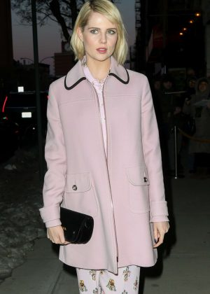 Lucy Boynton at 'The Blackcoat's Daughter' Screening in New York
