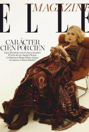 Lucy Boynton - Elle Magazine Spain (October 2020)