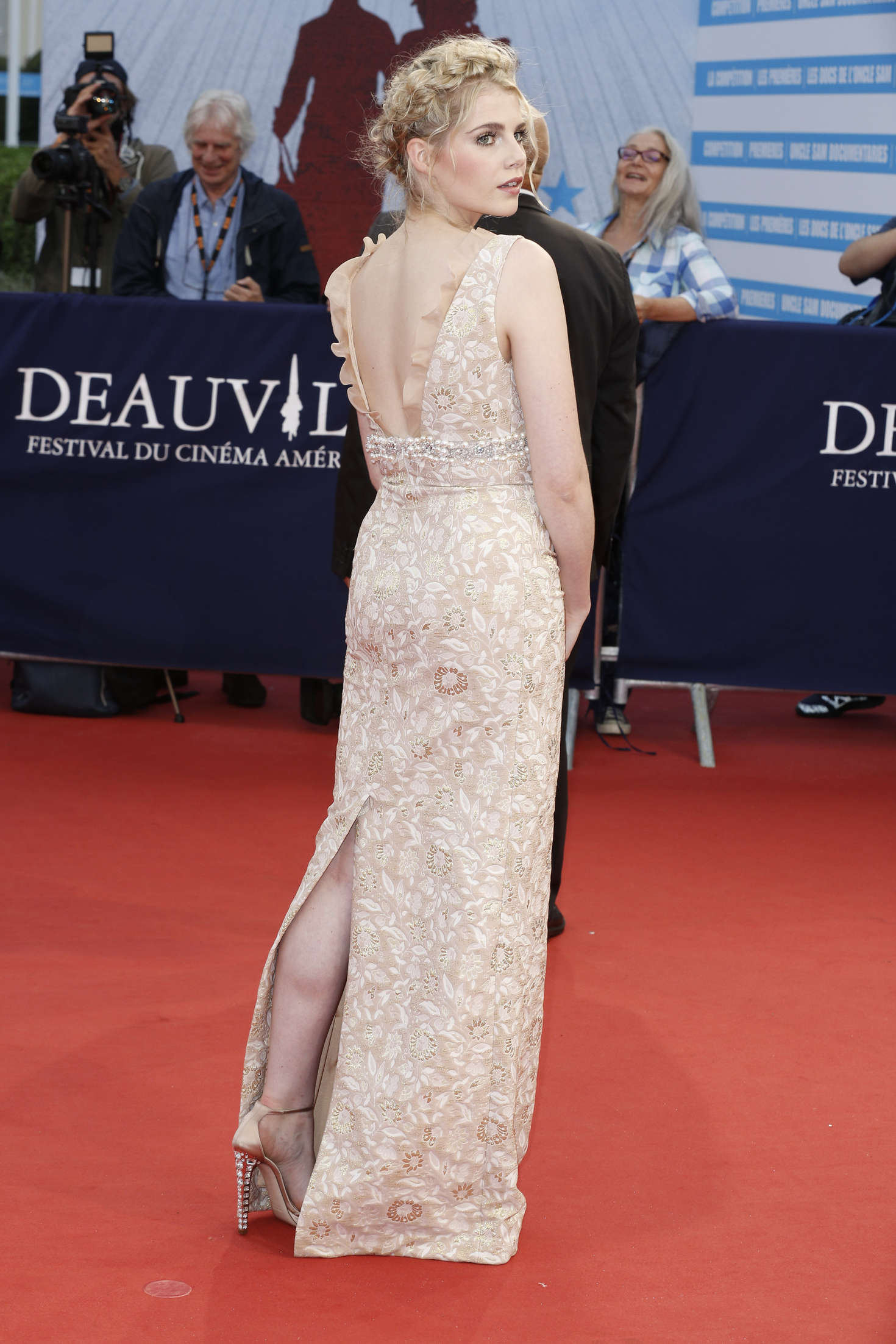 Lucy Boynton In Dubious Battle Premiere At 42nd Deauville