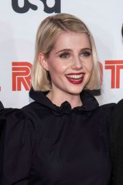 Lucy Boynton - 'Mr. Robot' Season 4 Premiere in NYC