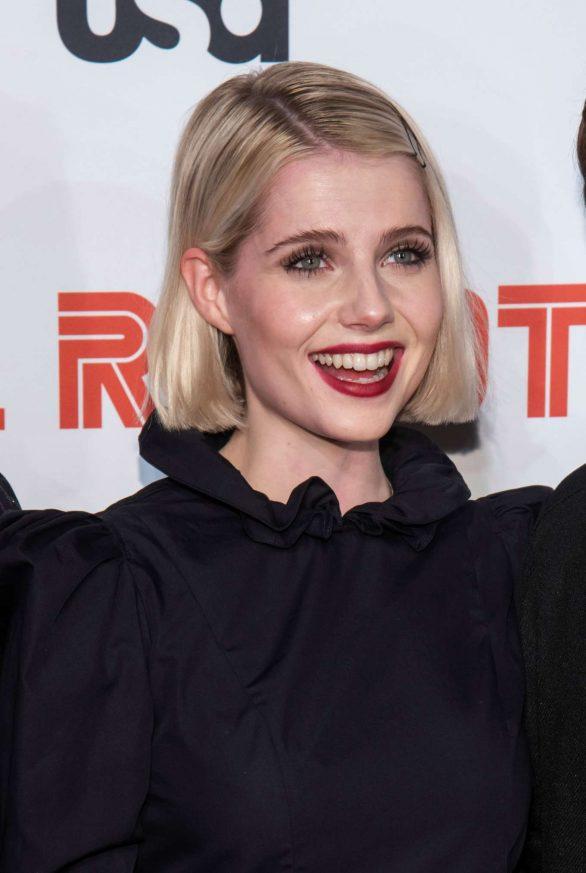 Lucy Boynton - 'Mr. Robot' Season 4 Premiere in NYC