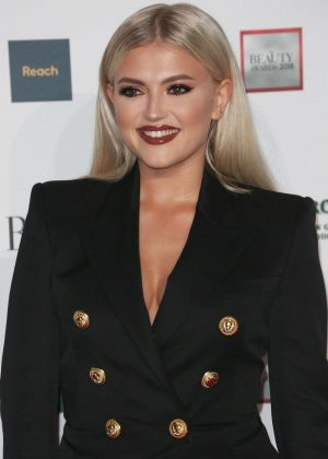 Lucy Fallon - 2018 Beauty Awards with OK! in London