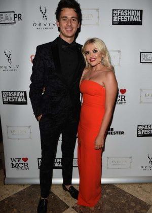 Lucy Fallon - 2018 Manchester Fashion Festival in Manchester
