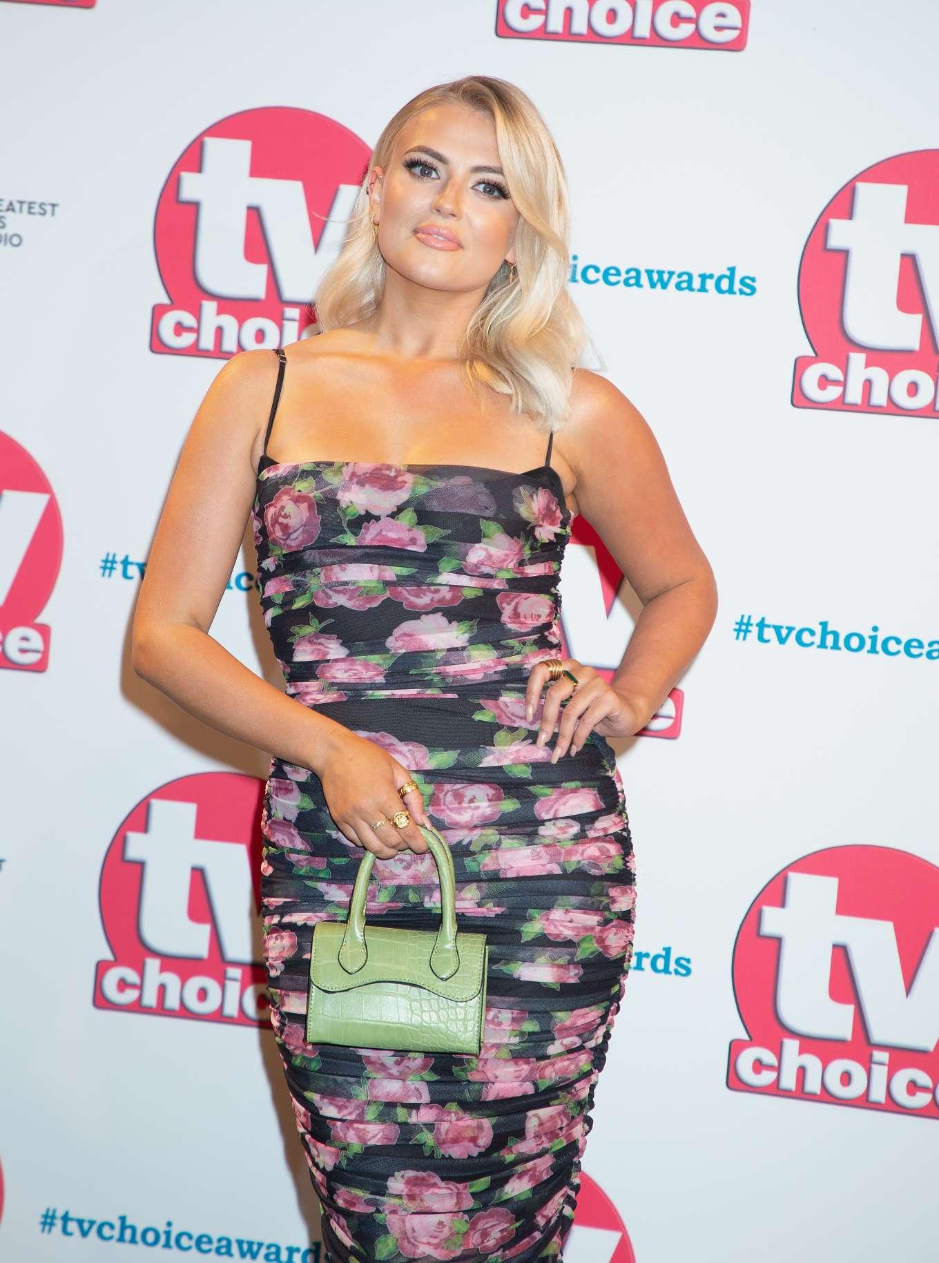 Lucy Fallon - 2019 TV Choice Awards in London