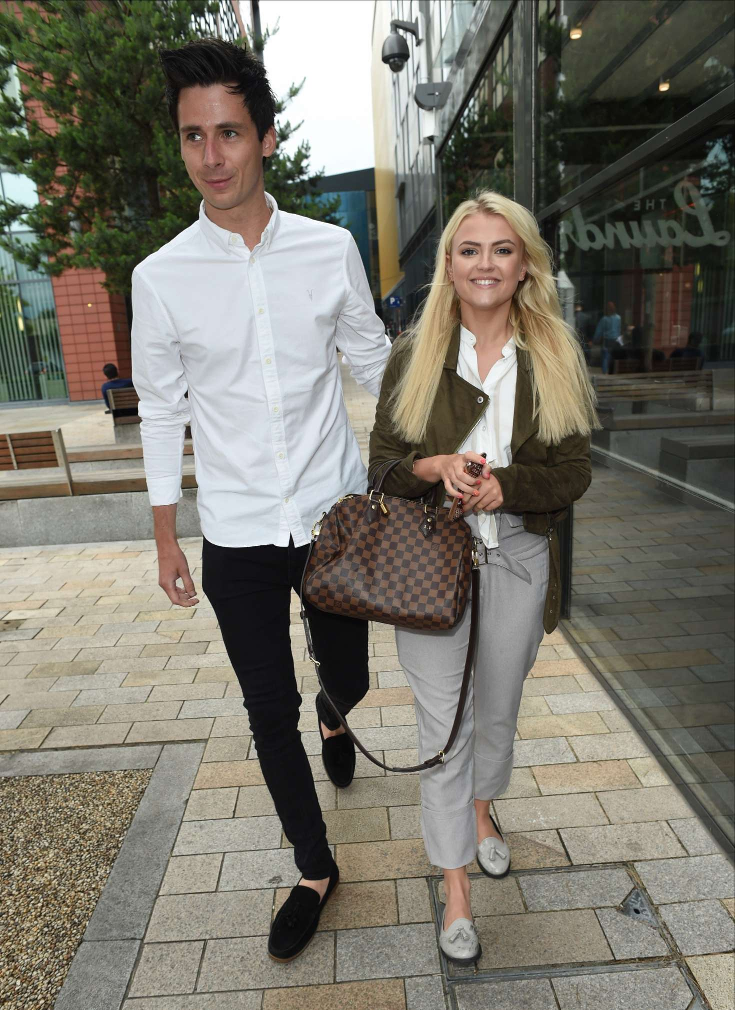 Lucy Fallon And Boyfriend Tom Leech Out In Manchester 16 Gotceleb