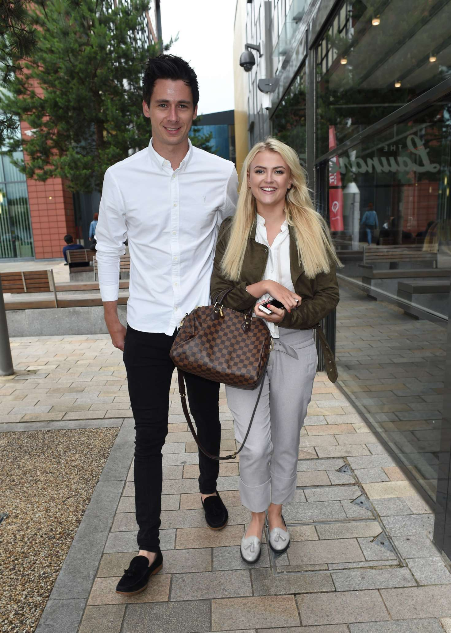 Lucy Fallon And Boyfriend Tom Leech Out In Manchester 23 Gotceleb