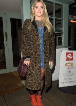 Lucy Fallon at Georges Restaurant in Worsley