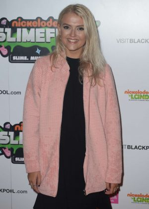 Lucy Fallon - First UK Nickelodeon Slimefest in Blackpool