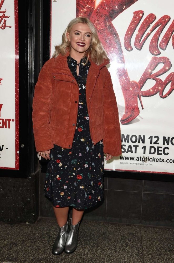 Lucy Fallon - Kinky Boots Press Night in Manchester