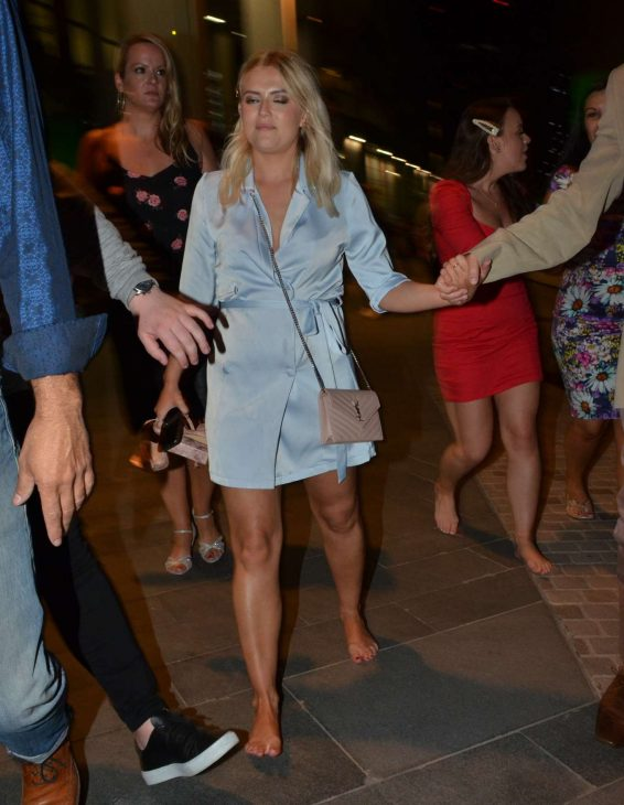 Lucy Fallon - Leaves ITV Summer Ball Party in Manchester