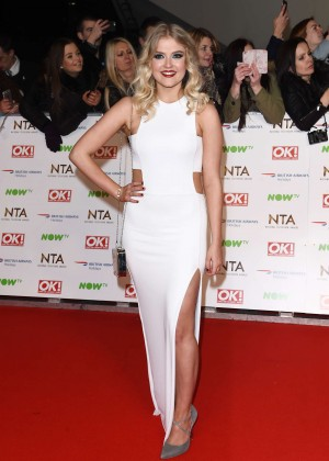 Lucy Fallon - National Television Awards 2016 in London