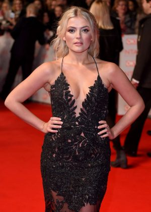 Lucy Fallon - National Television Awards 2018 in London