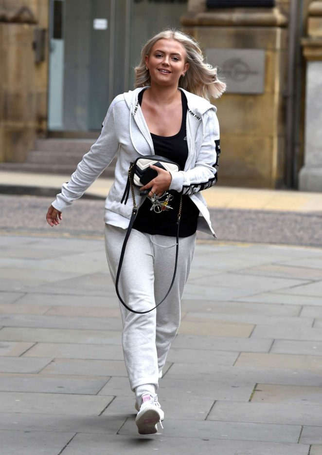 Lucy Fallon - Out in Manchester