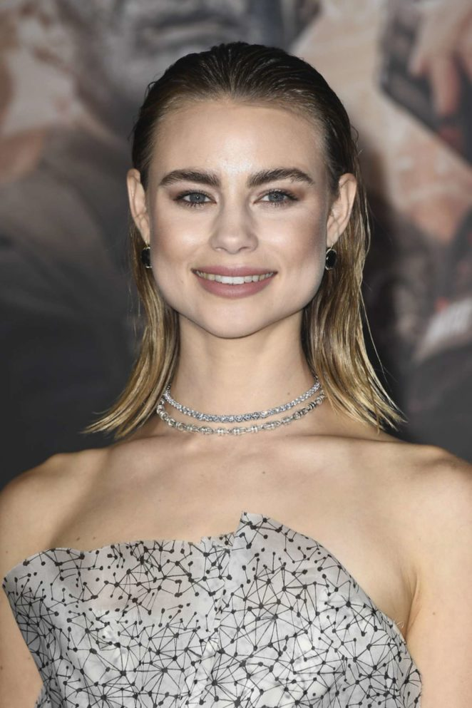 Lucy Fry - 'Bright' Premiere in Westwood
