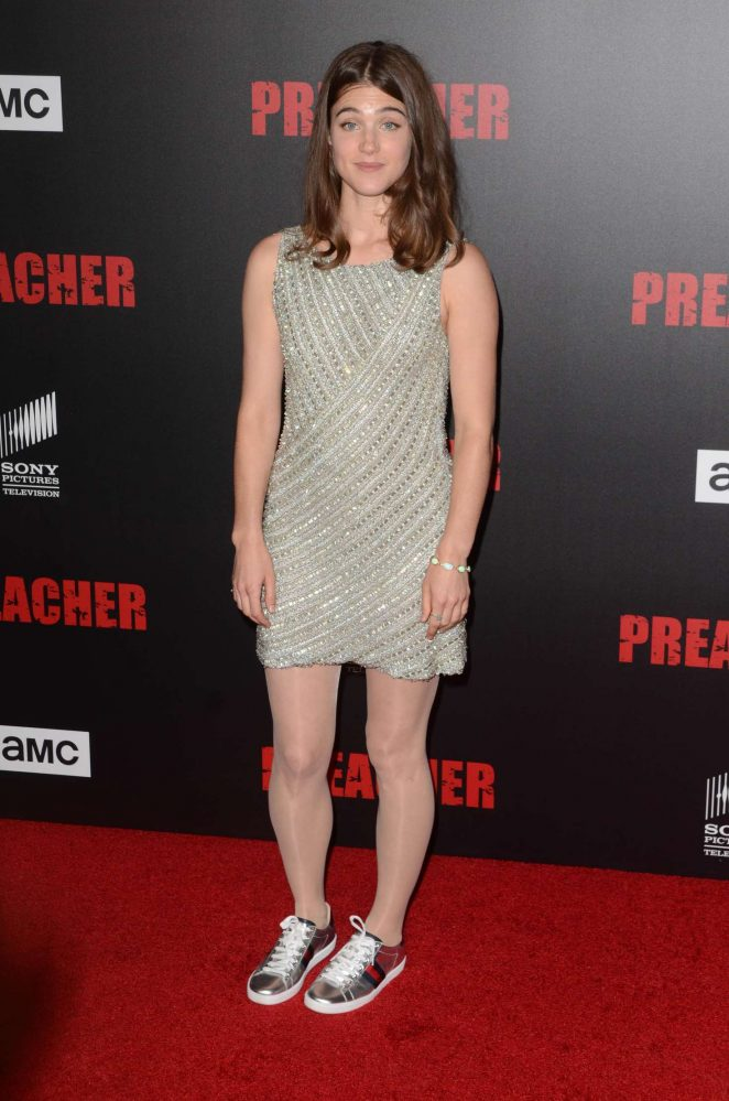 Lucy Griffiths - 'Preacher' Premiere in Los Angeles