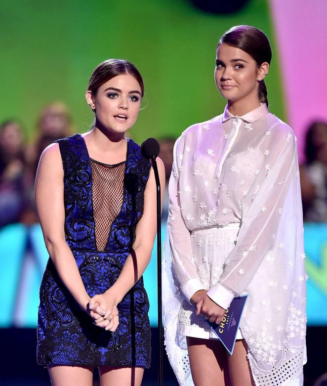 Lucy Hale: 2015 Teen Choice Awards -06