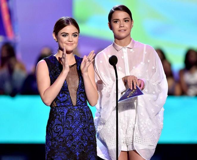 Lucy Hale: 2015 Teen Choice Awards -07