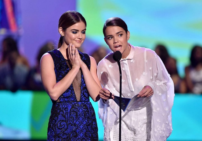 Lucy Hale: 2015 Teen Choice Awards -09