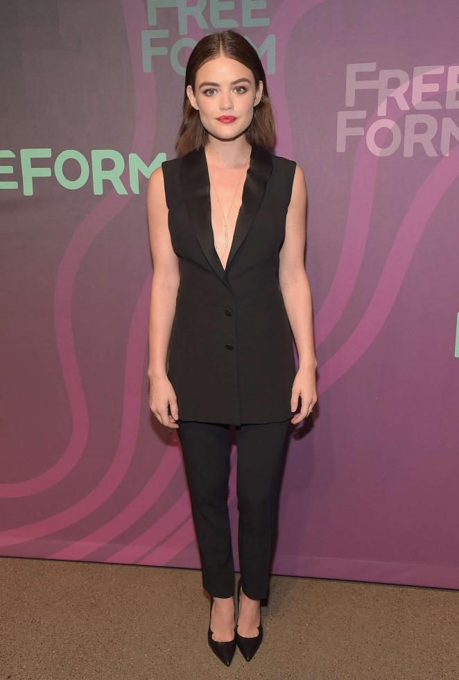 Lucy Hale – 2016 ABC Freeform Upfront in New York