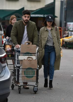 Lucy Hale and Anthony Kalabretta Shopping together in LA