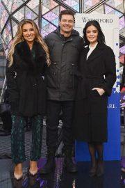 Lucy Hale and Jessie James Decker - Dick Clark's New Year's Rockin Eve Press Junket in NYC