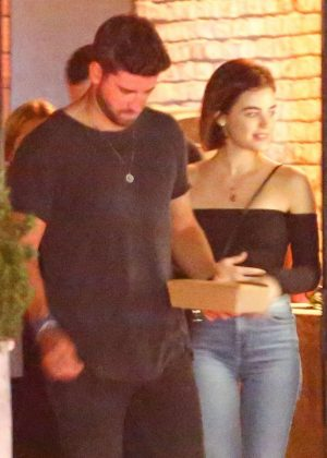 Lucy Hale and Ryan Rottman - Leaving Tasting Kitchen in Venice