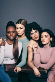 Lucy Hale, Ashleigh Murray, Jonny Beauchamp and Julia Chan - Watch! Magazine (March 2020)