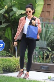 Lucy Hale at Le Jolie Medi Spa in West Hollywood