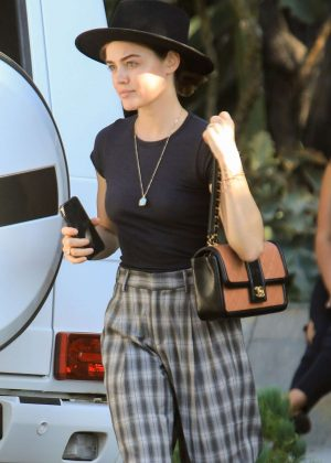 Lucy Hale at Violet Grey in West Hollywood