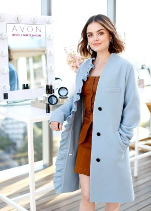 Lucy Hale - Avon New Glow Collection Launch in LA