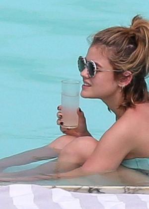 Lucy Hale in Bikini 2016 -38
