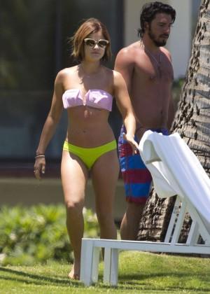 Lucy Hale in Bikini -16
