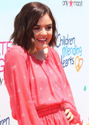 Lucy Hale - Children Mending hearts 2015 'Empathy Rocks' Fundraiser in Malibu
