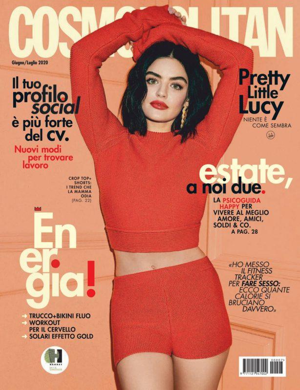 Lucy Hale - Cosmopolitan Italy Magazine (June/July 2020)