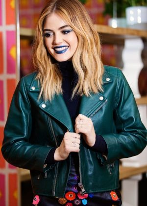 Lucy Hale - Cosmopolitan MarkGirl Shoot (November 2016)