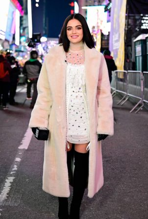 Lucy Hale - Dick Clark's New Year's Rockin' Eve in New York