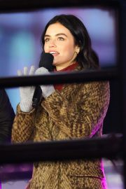 Lucy Hale - Doing rehearsals for 2020 New Year's in Times Square